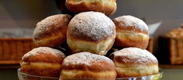 Jerusalem and Sufganiyot